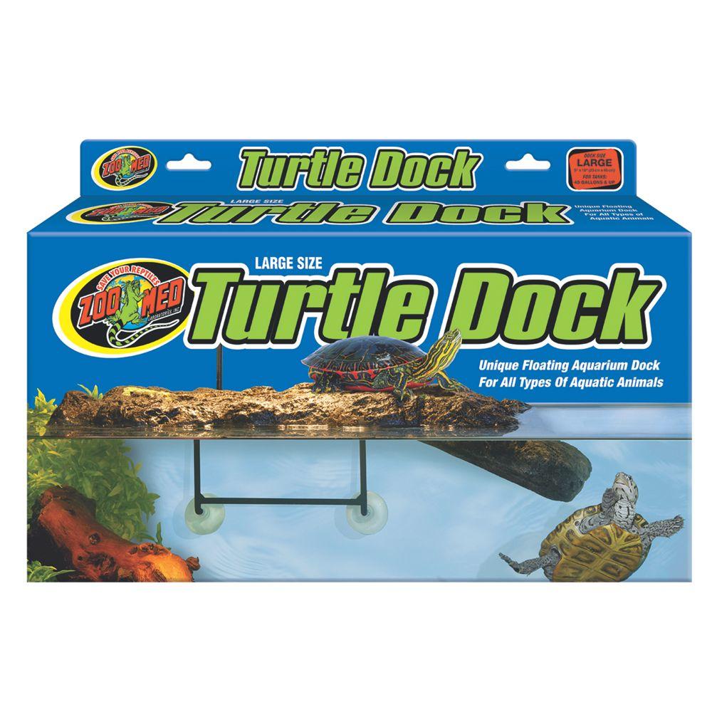 ZOO MED, Turtle Dock Aquatic Floating Turtle Dock size: Large, Light Brown 5082114