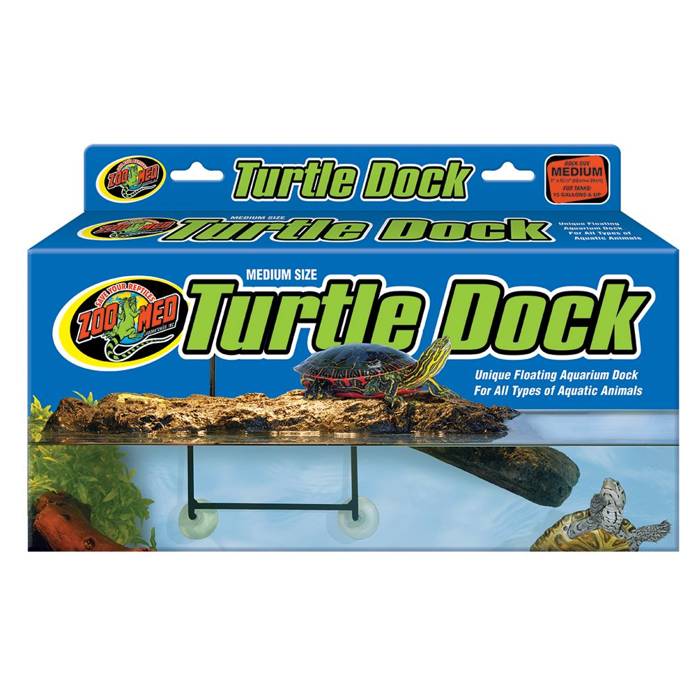 Zoo Med, Turtle Dock Aquatic Floating Turtle Dock size: Medium, Light Brown 5082116