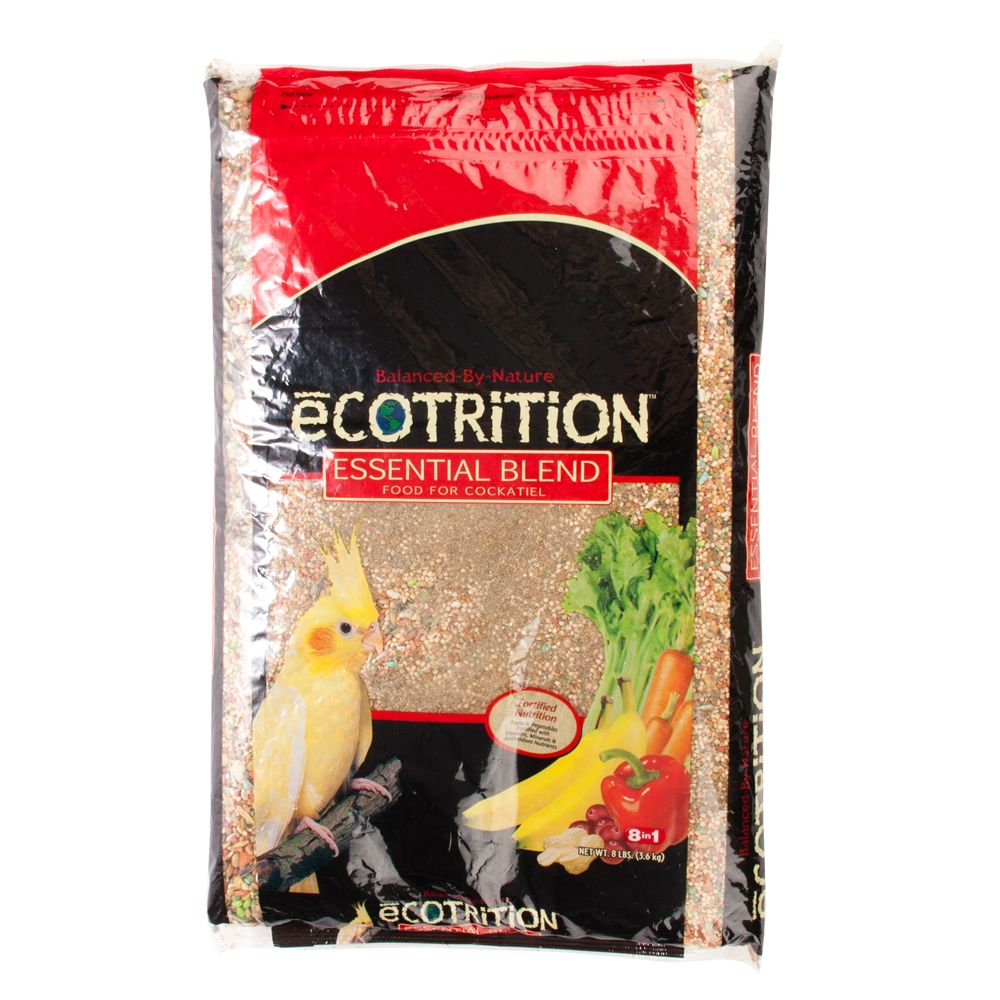 Ecotrition Essential Blend Cockatiel Food Size 5 Lb