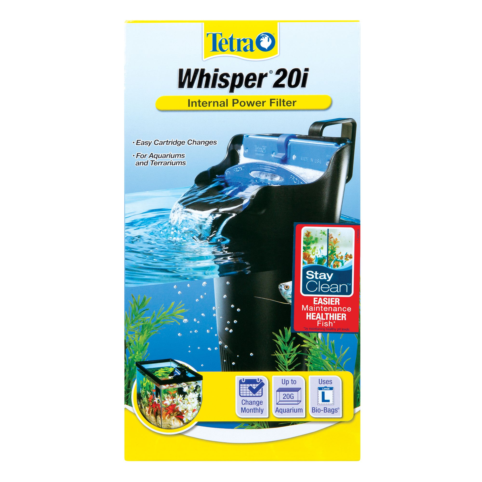 Tetra Whisper In Tank Power Aquarium Filters