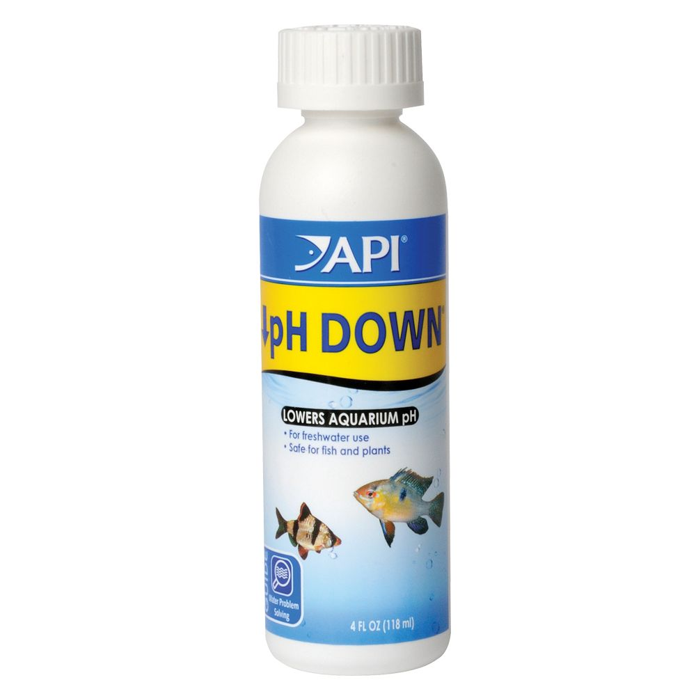 Api Ph Down Adjuster Freshwater Aquarium Water Conditoner Size 4 Fl Oz