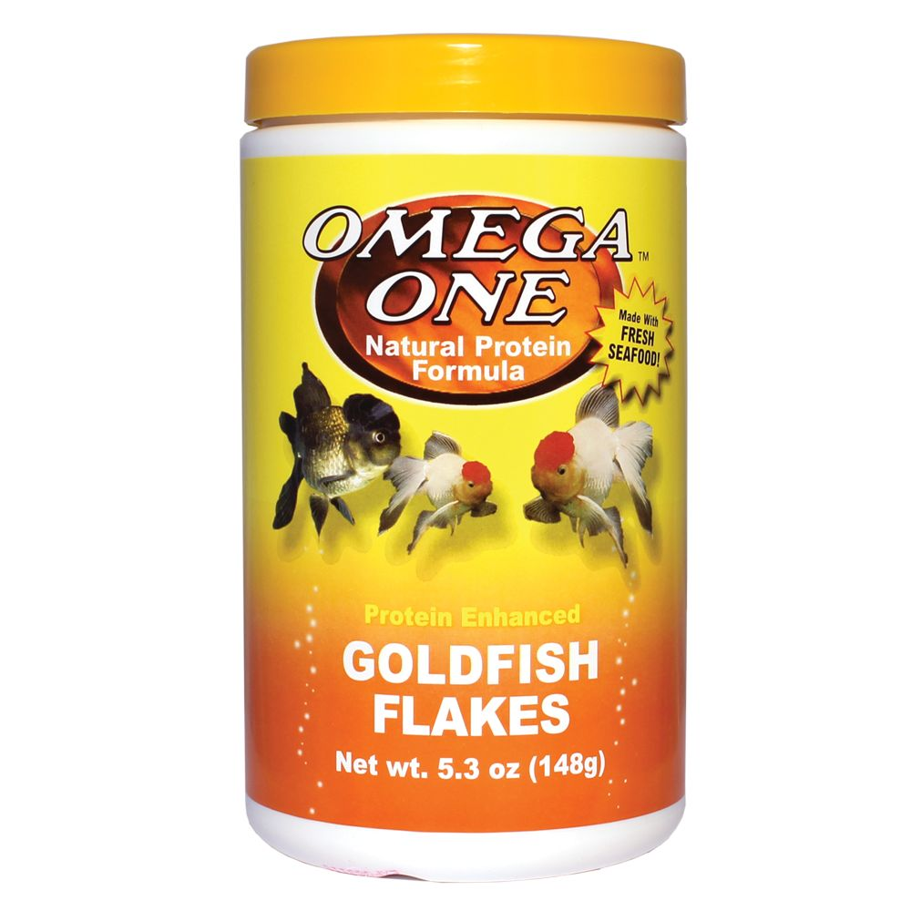 Omega One First Goldfish Flakes Size 5.3 Oz Omega One