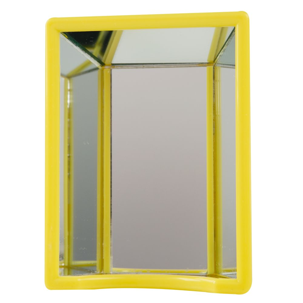 JW Pet Insight Activitoys Hall of Mirrors Bird Toy, Yellow 5088414