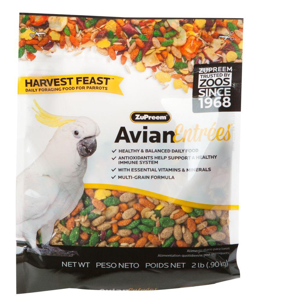 ZuPreem Avian Entrees Harvest Feast Mix Parrot Food