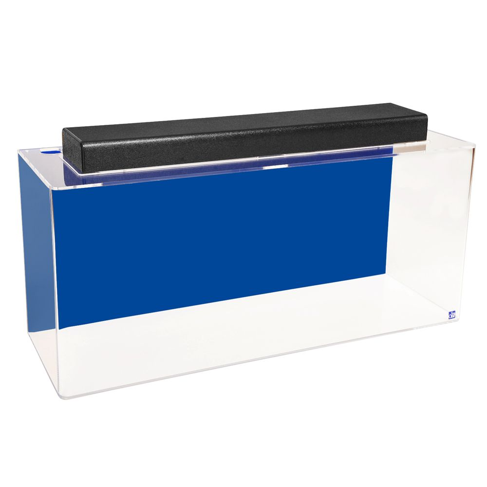 Seaclear 30 Gallon Show Aquarium And Hood Size 30 Gal Cobalt Blue North American Pet Products