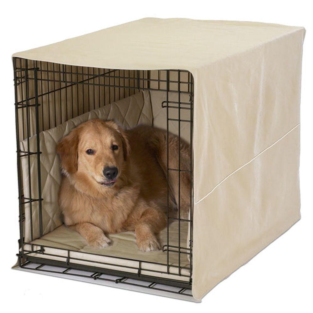 Pet Dreams Classic Cratewear Dog Bedding Set Size 48l X 30w X 35h Green