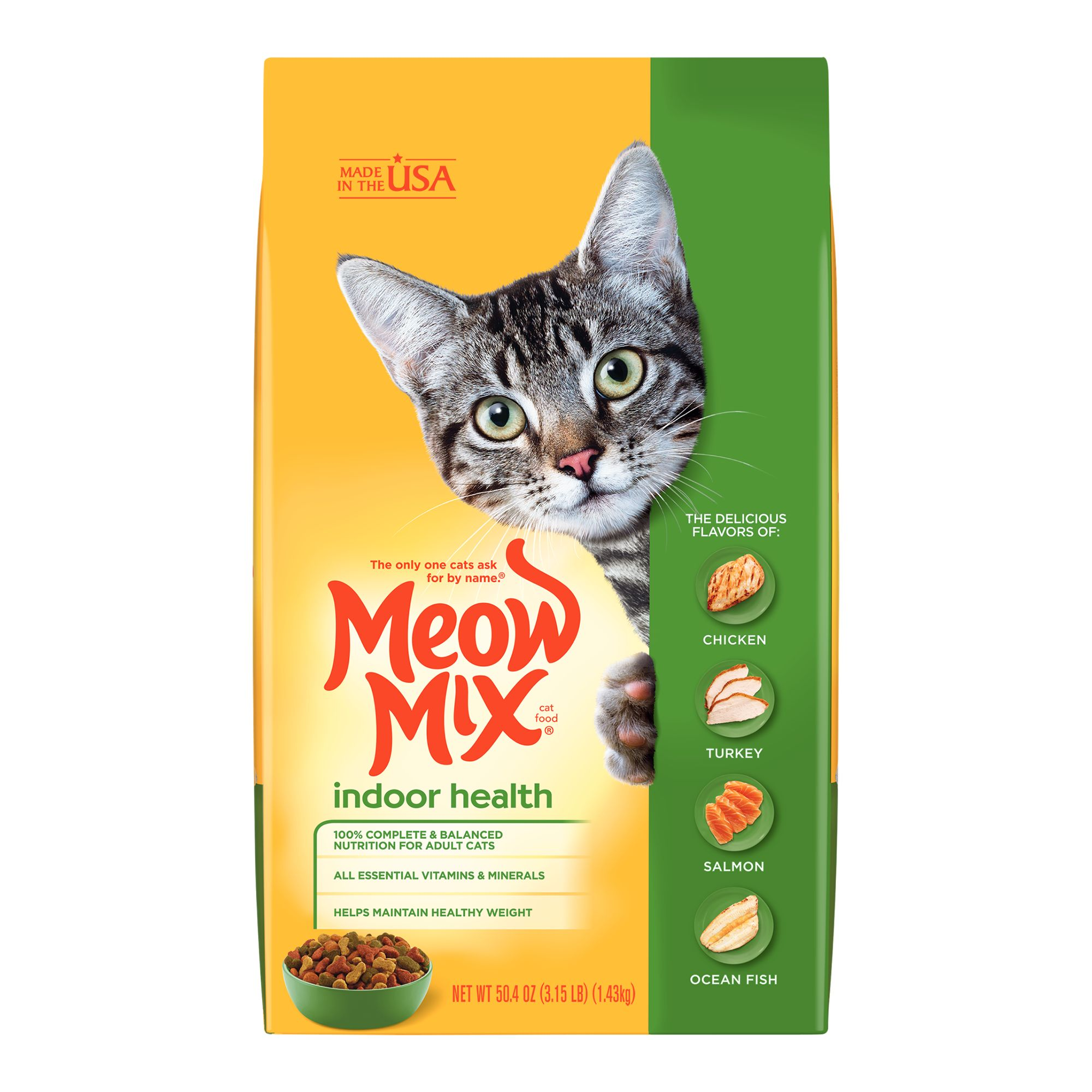 Meow Mix® Indoor Adult Cat Food size: 3.15 Lb