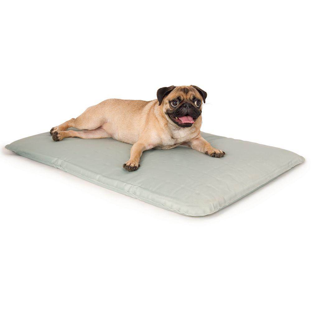 "KandH Cool Bed III Pet Bed size: 17""L x 24""W, Gray, K & H"