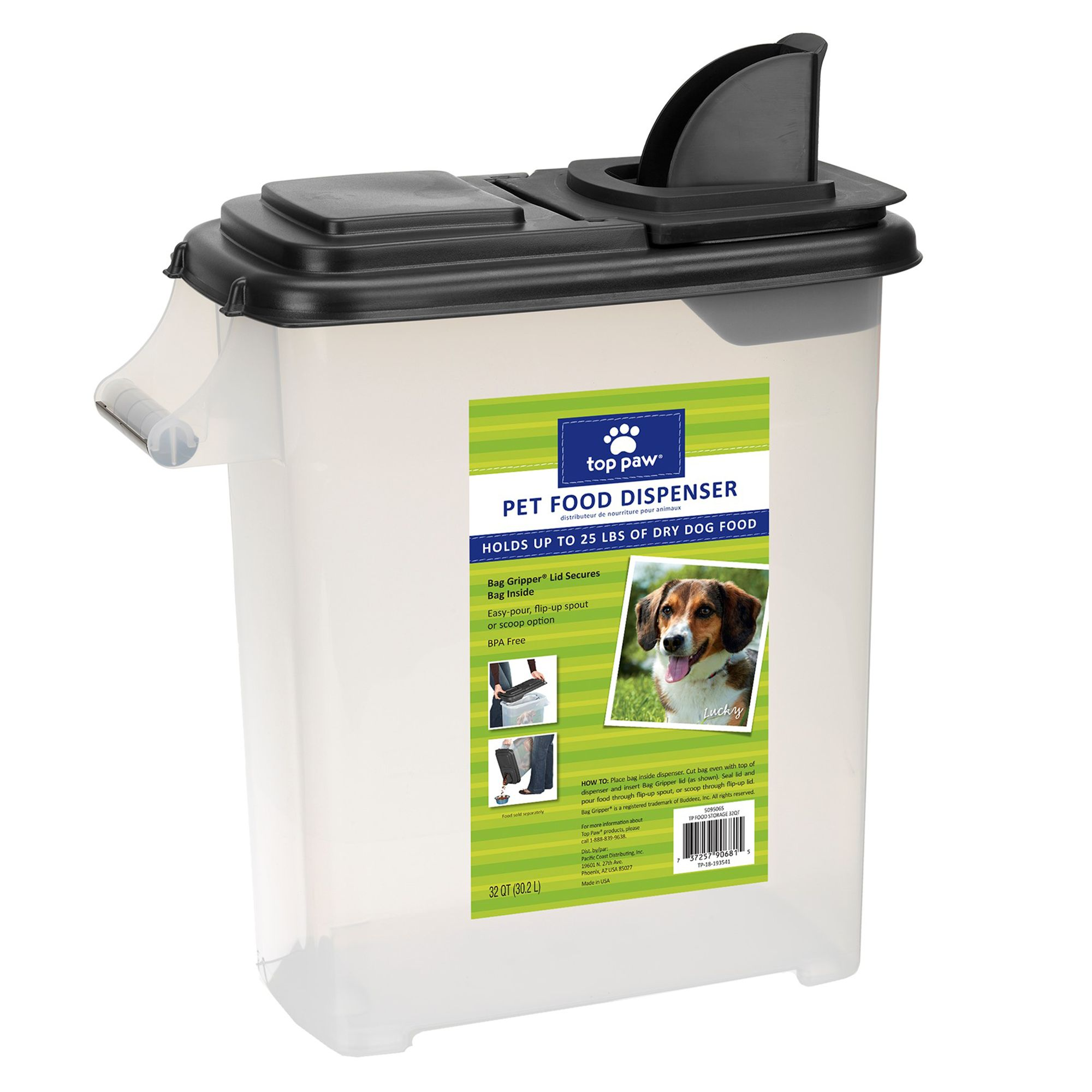 Grreat Choice Dog Food Container