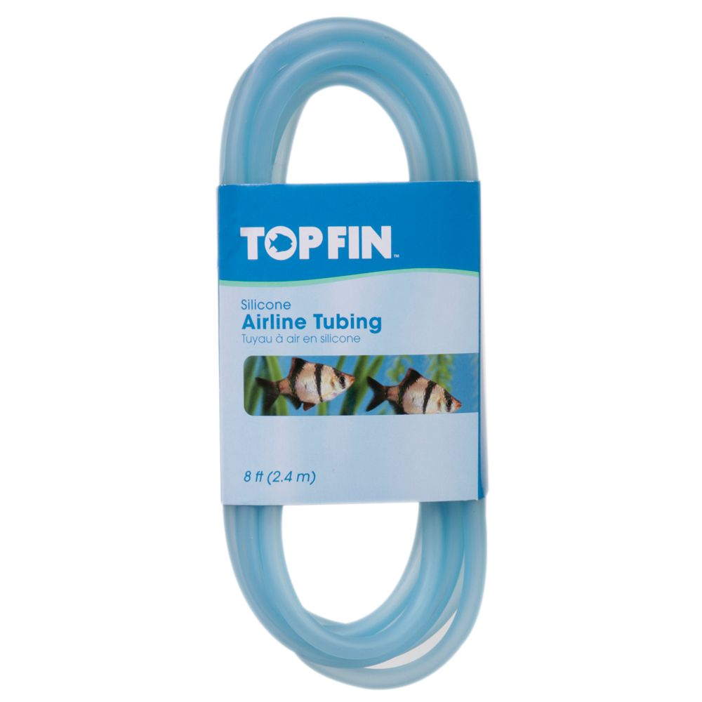 Top Fin 8 Foot Silicone Airline Tubing Size 8 Ft