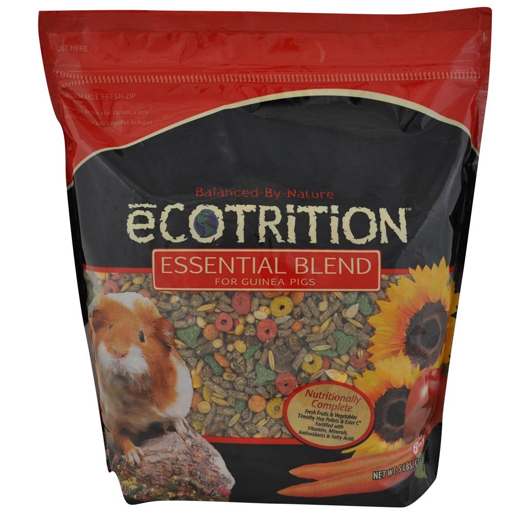 Ecotrition Essential Blend Guinea Pig Food Size 5 Lb