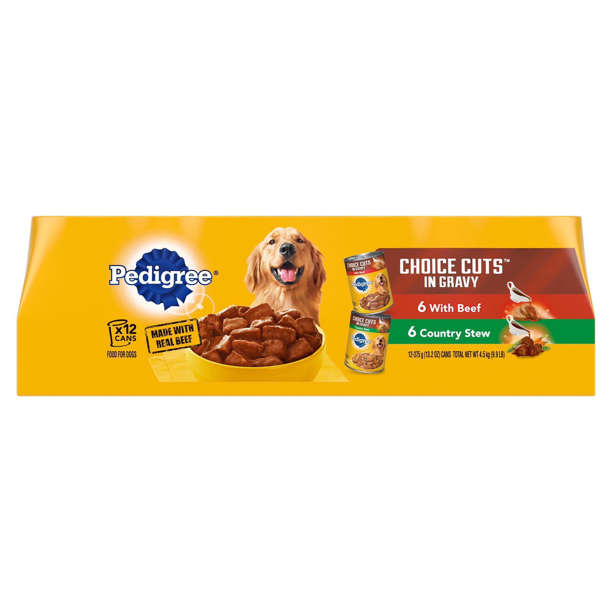 Pedigree® Choice Cuts® Variety Pack Dog Food size: 13.2 Oz 5109867