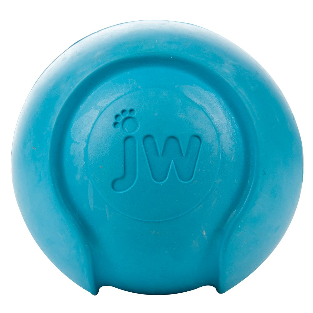 JW Pet Baseball Dog Toy size: Large