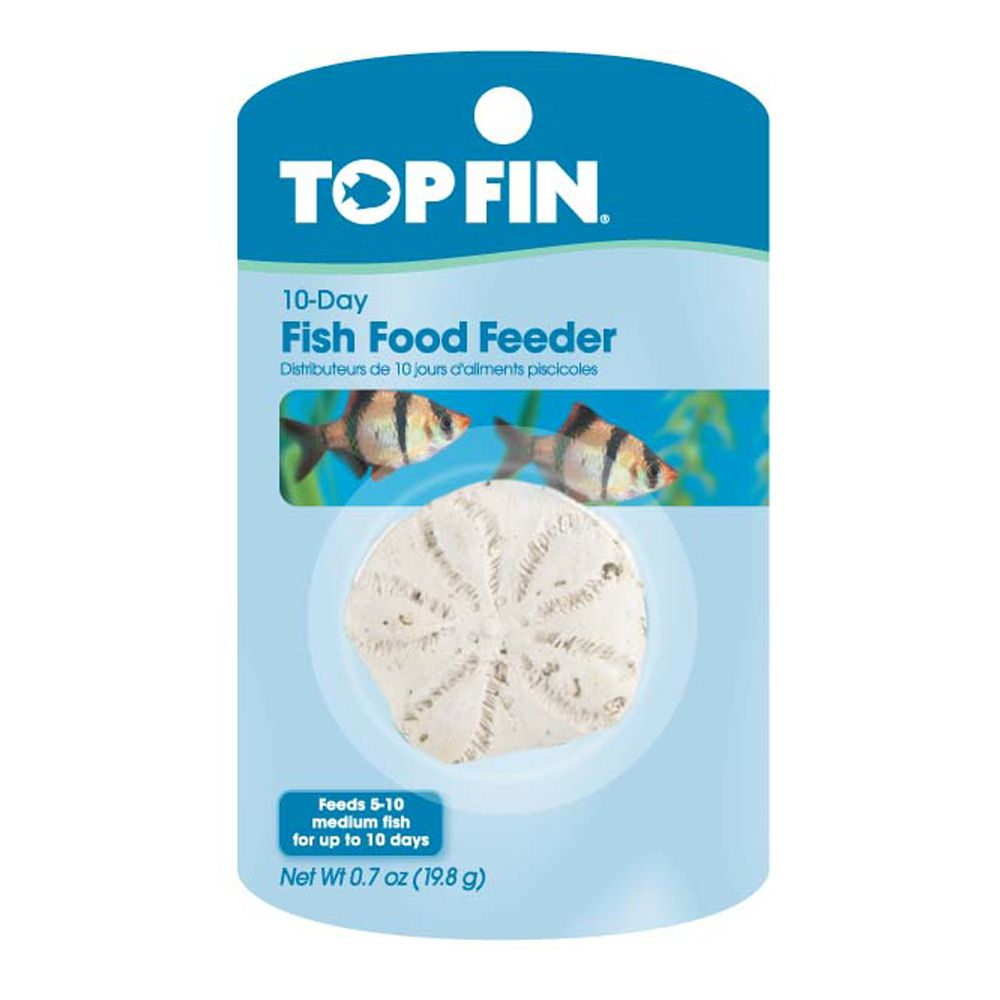 Top Fin 10 Day Fish Food Feeder