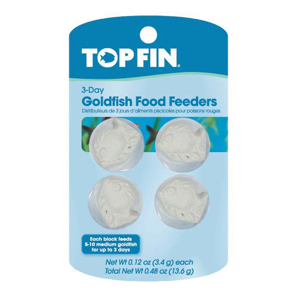 Top Fin 3 Day Goldfish Food Feeder