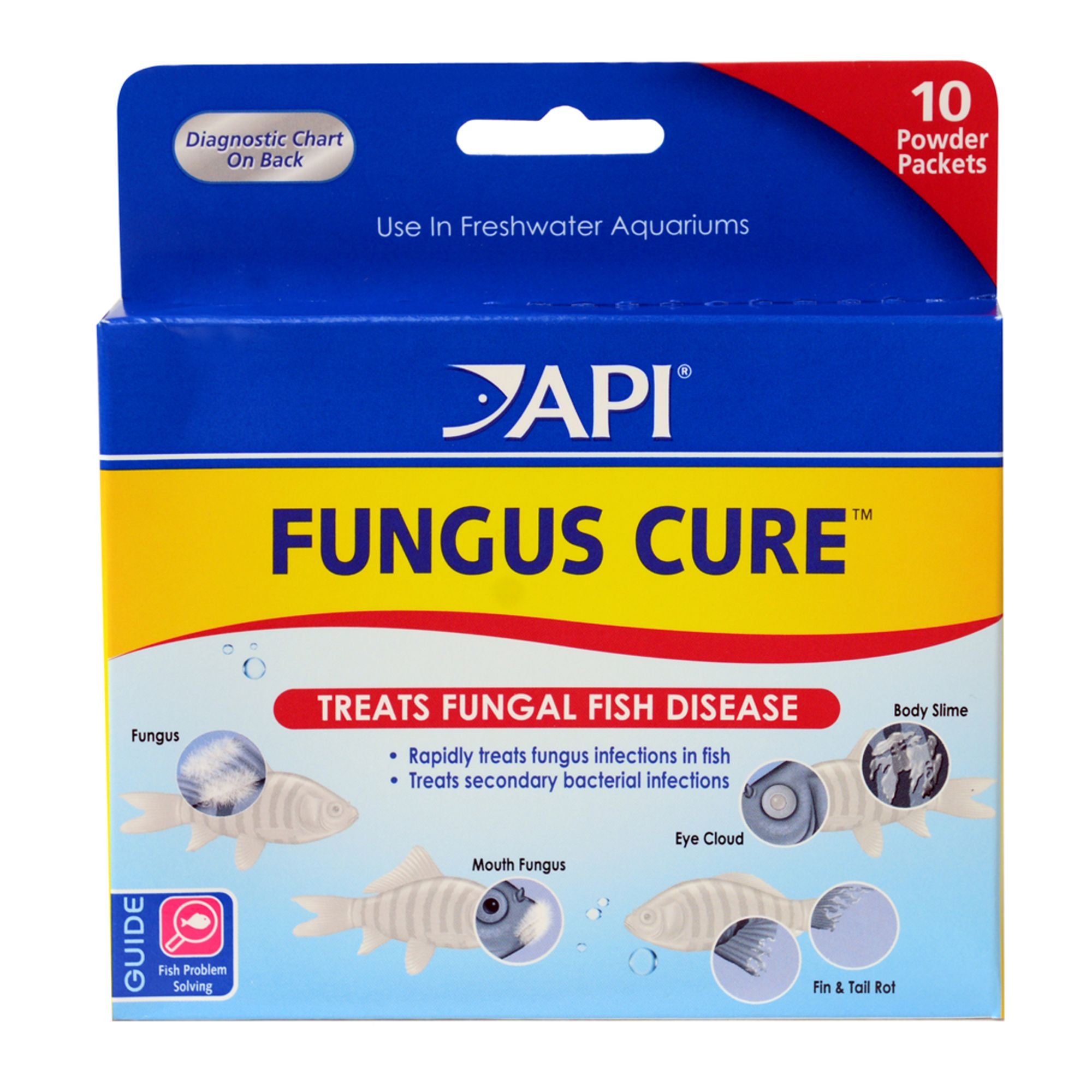 Api Fungus Cure Fish Fungal Infection Treatment Size 1.4 Fl Oz