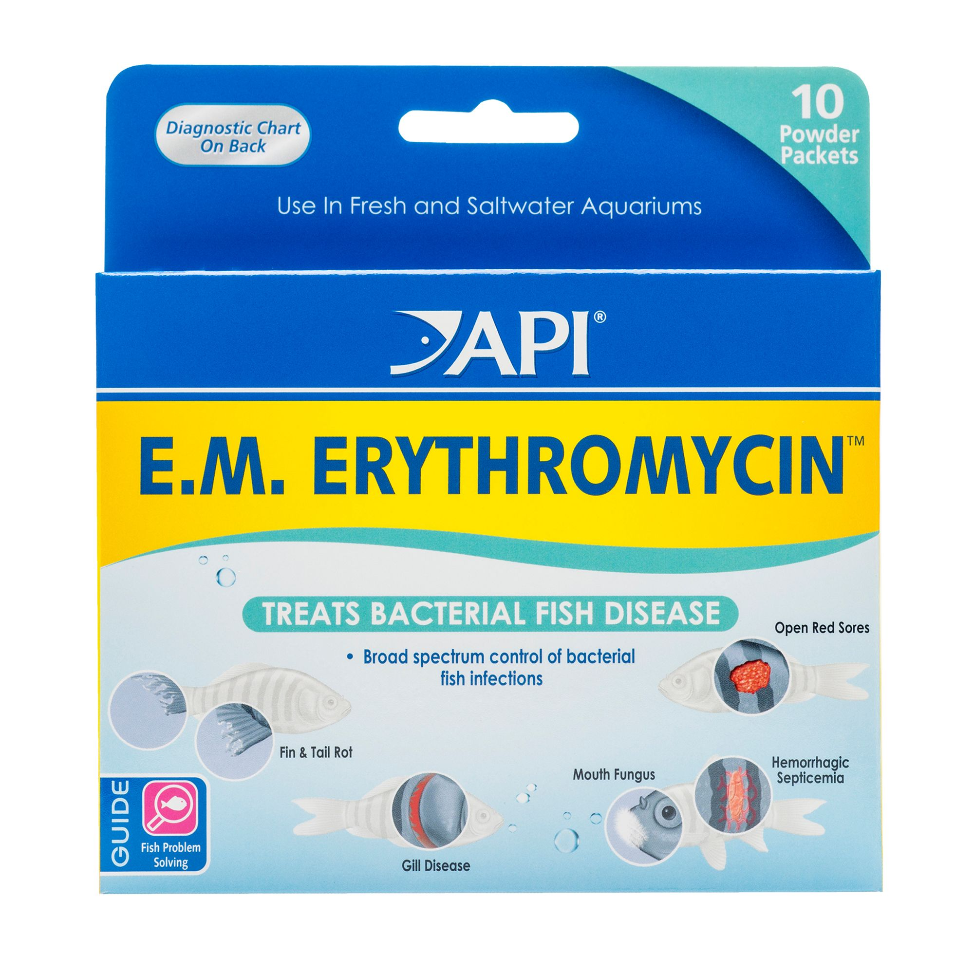 317163160558 upc e m erythromycin powder pack 10 ct for Fish antibiotics walmart