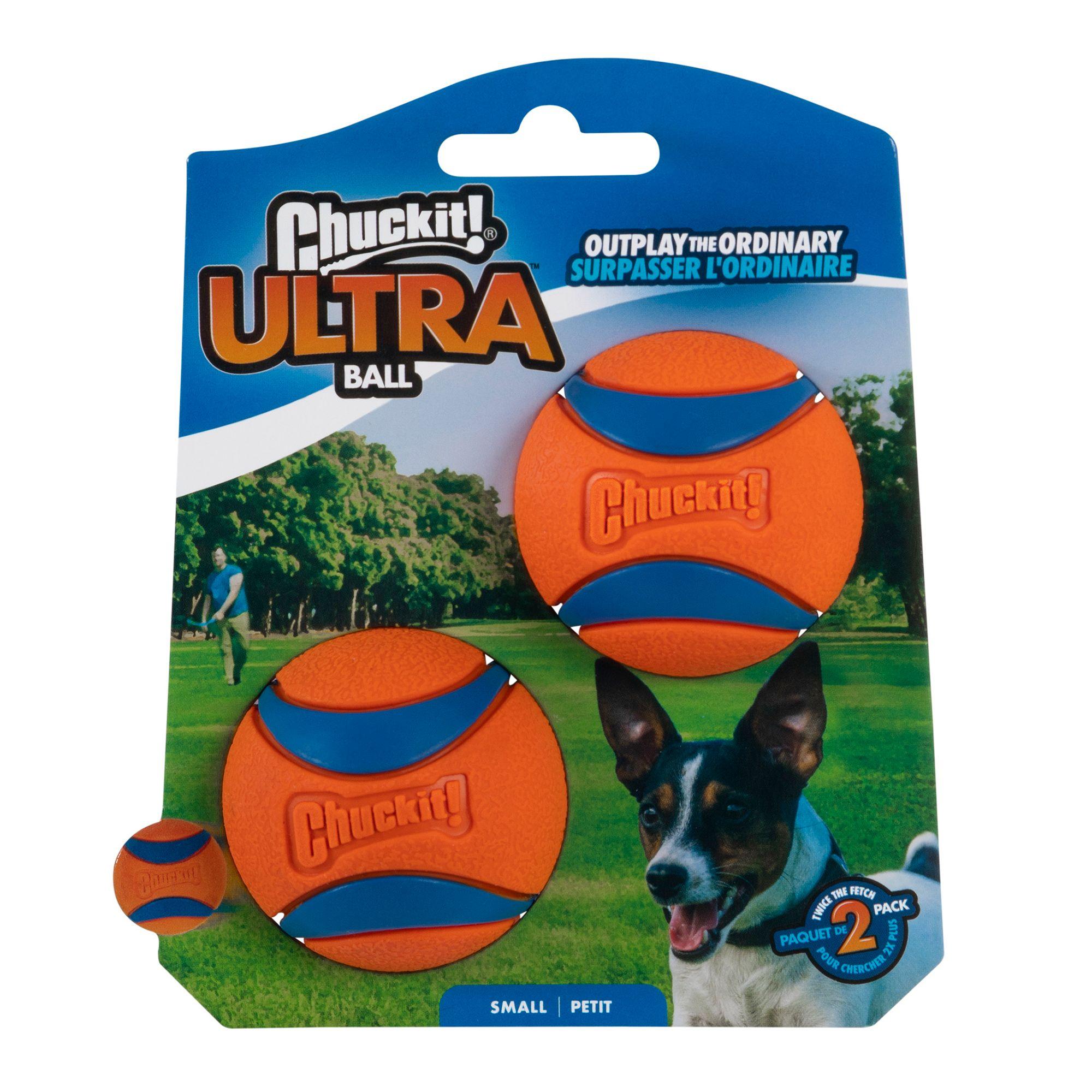 Chuckit! Ultra Ball Dog Toy size: Small, Orange & Blue