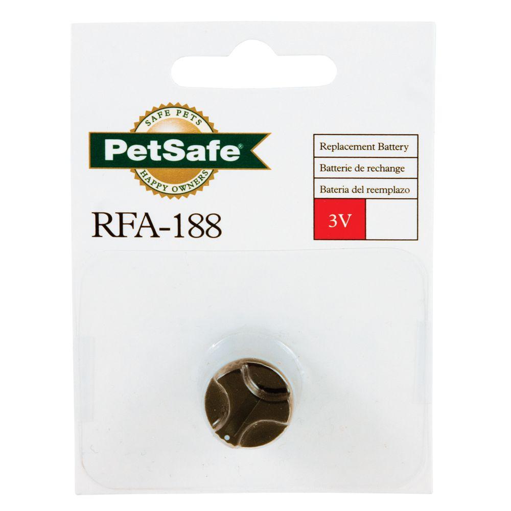 PetSafe Deluxe Little Dog Bark Control Collar 3 Volt Replacement Battery 5116636