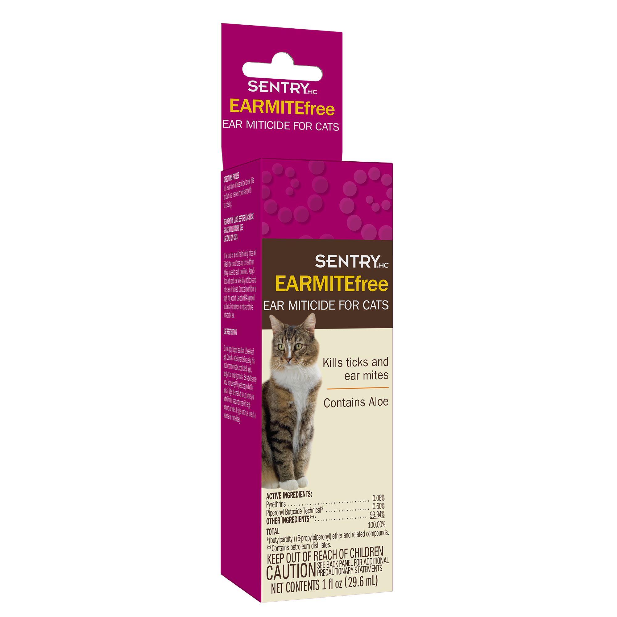 Sentryreg Earmitefree Cat Ear Miticide