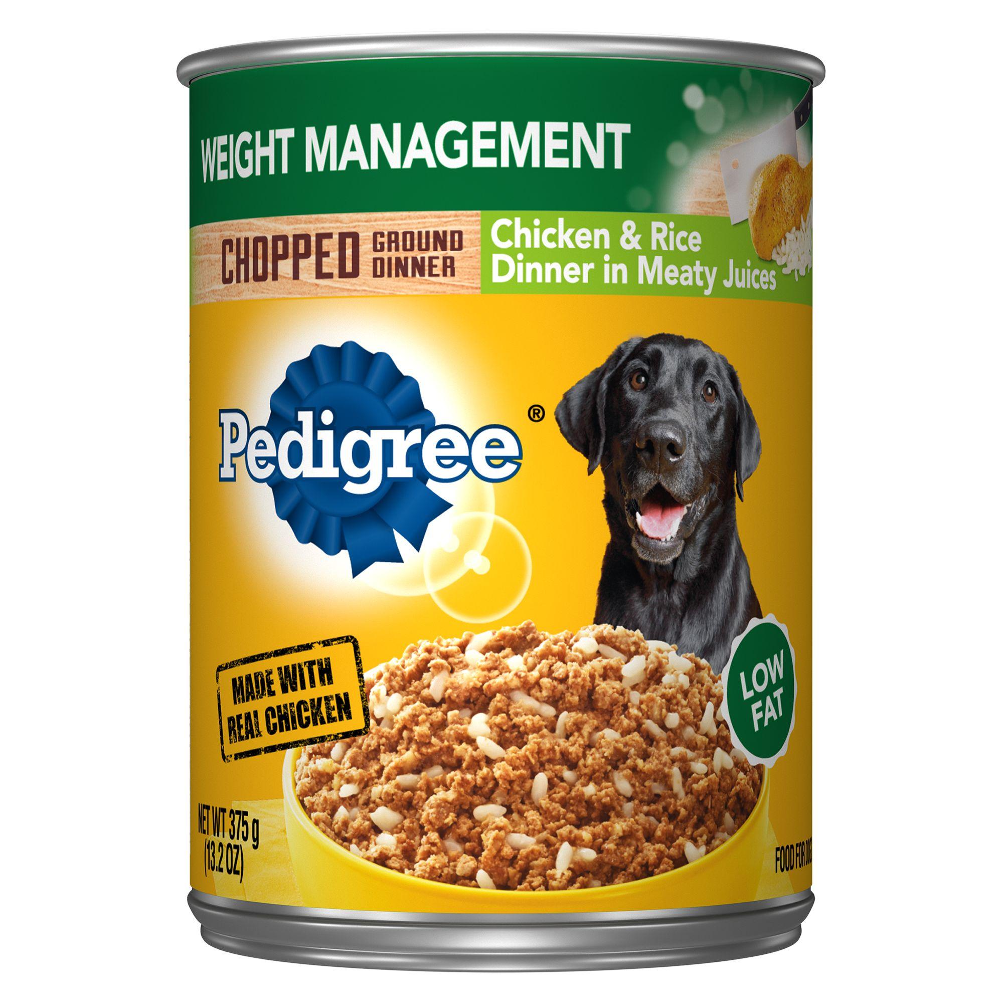 Pedigree® Meaty Ground Dinner Dog Food size: 13.2 Oz