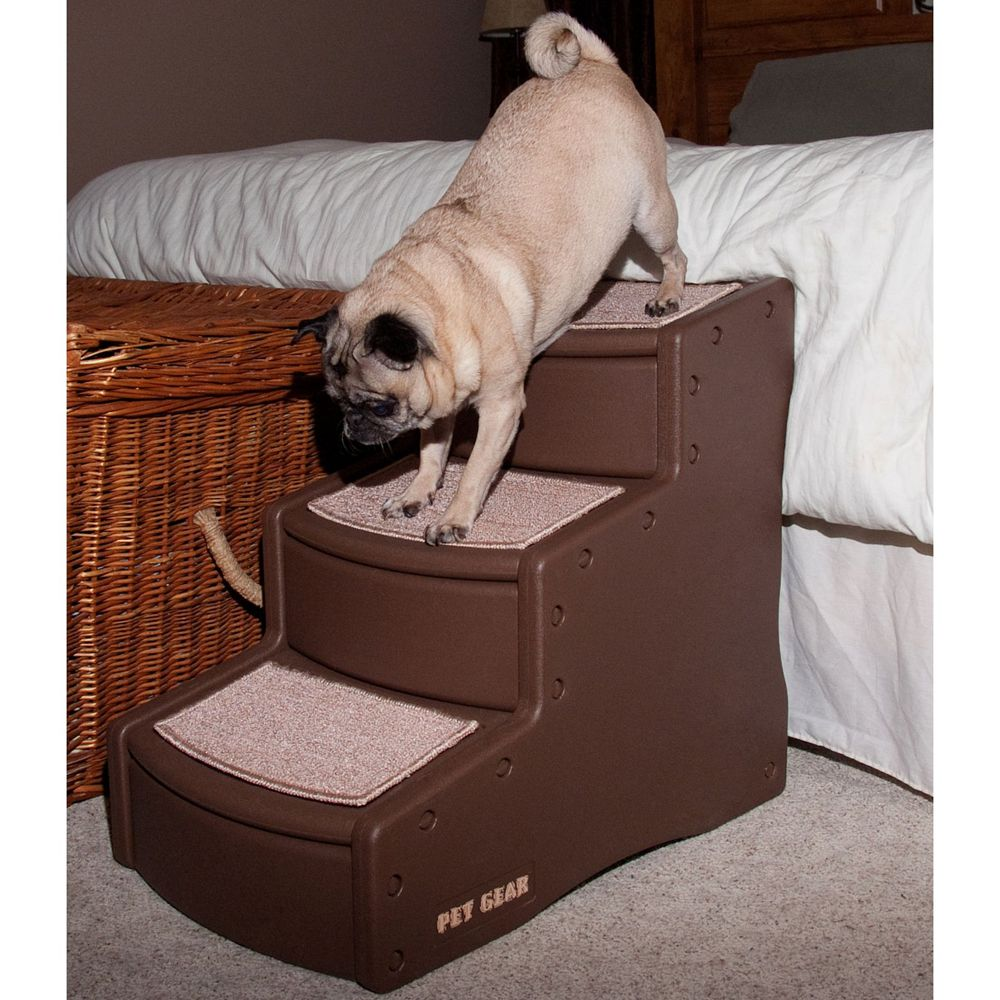 Pet Gear Easy Step Iii Pet Stairs Size 25l X 16w X 23h Tan