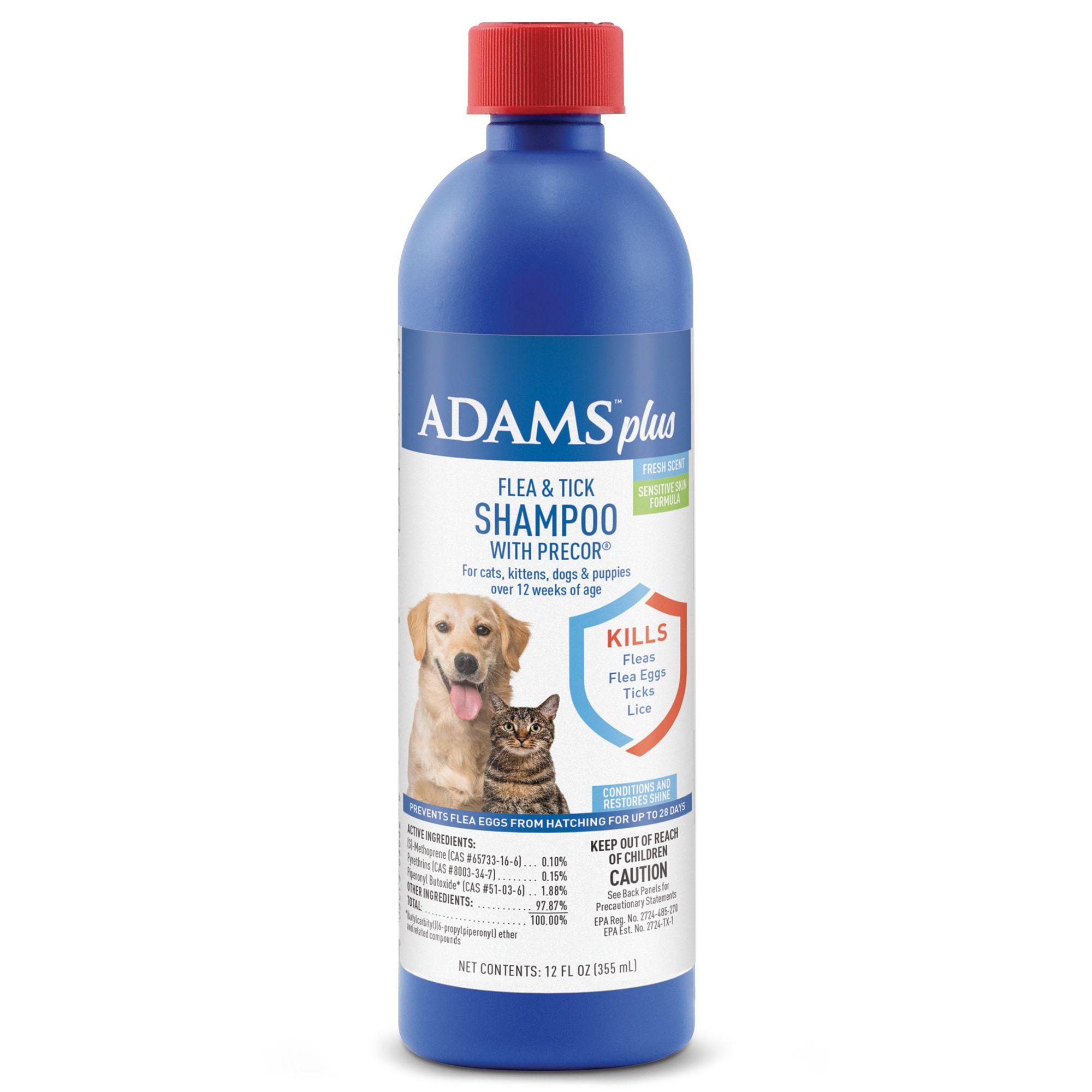 Adams Plus Flea And Tick Shampoo