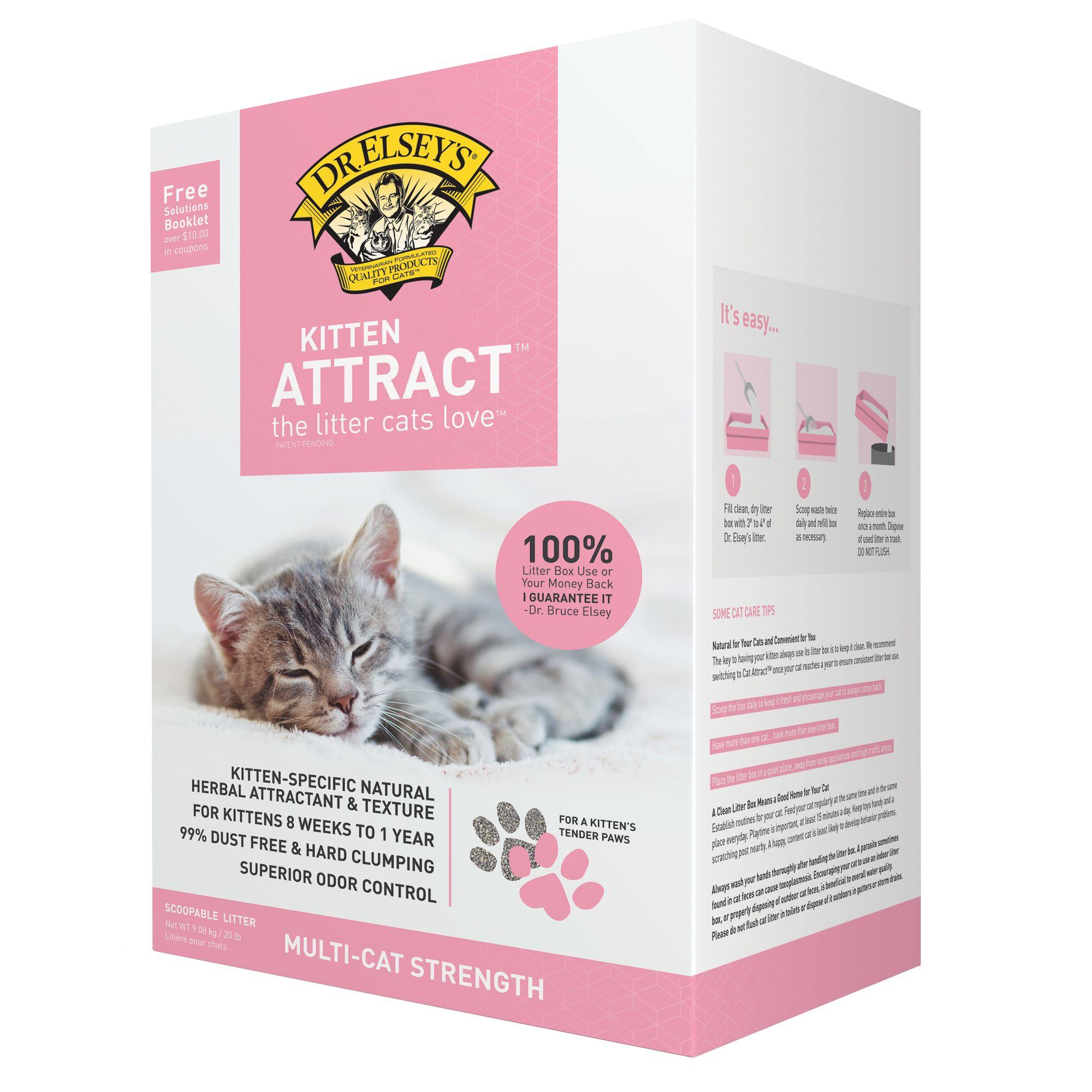 Precious Cat Kitten Attract Litter Size 20 Lb