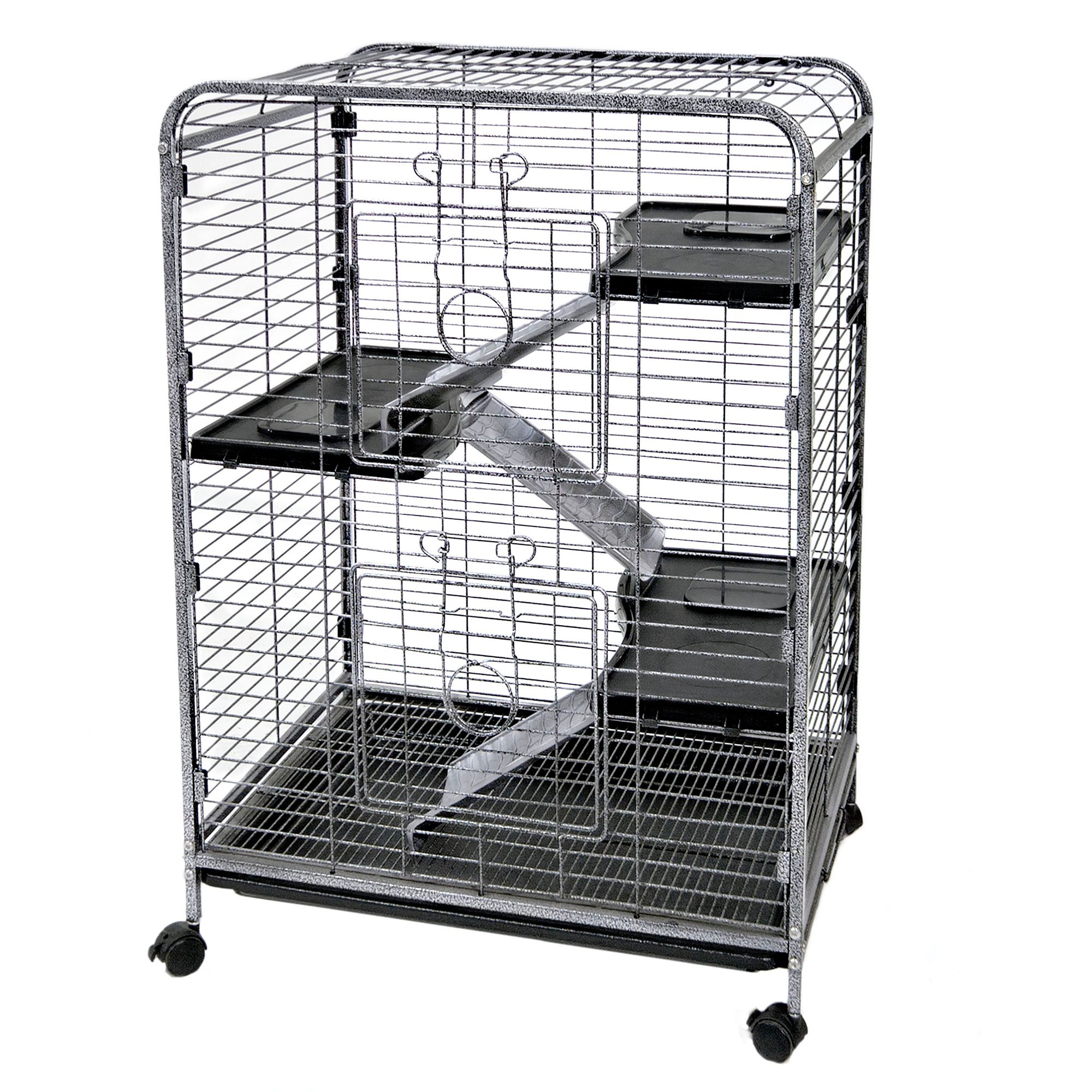 Ware Indoor Hutch 4 Level Small Animal Cage 5126273