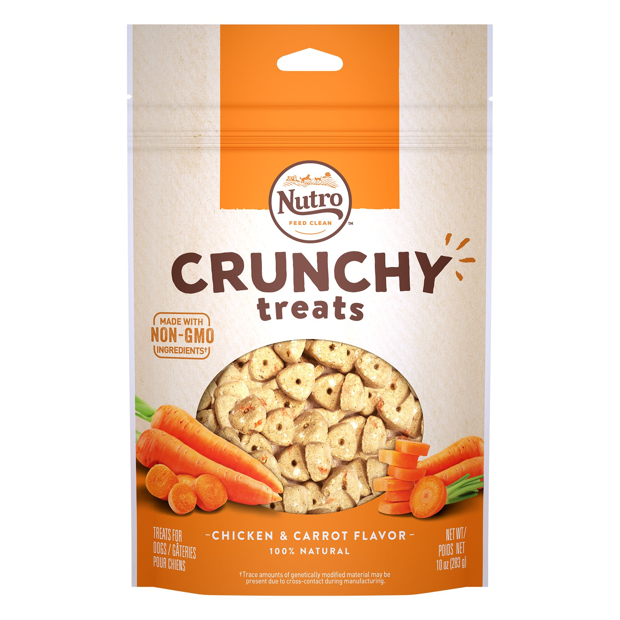 Nutro Natural Choice Crunchy Dog Treat Size 10 Oz