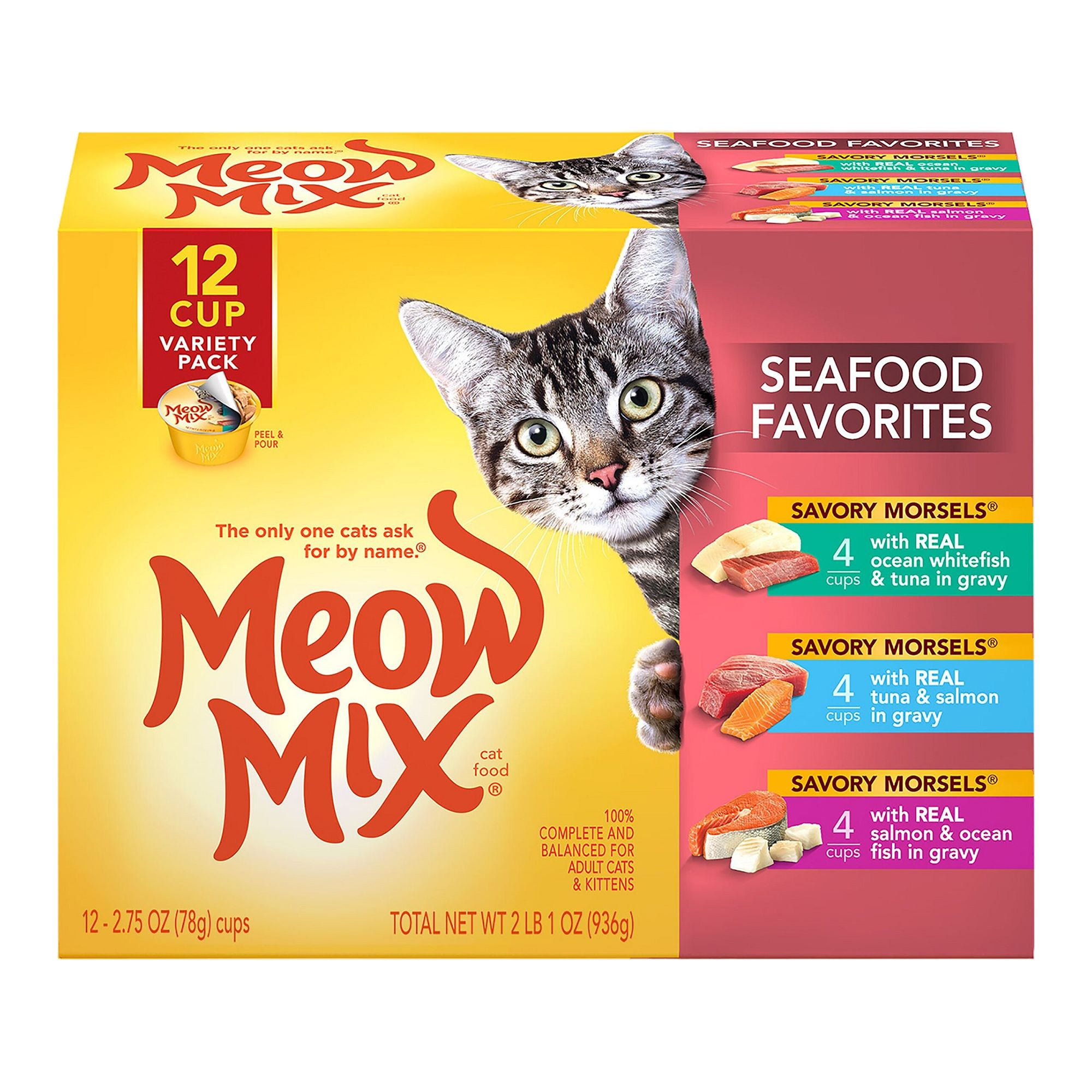 Meow Mix® Market Select Variety Pack Adult Cat Food size