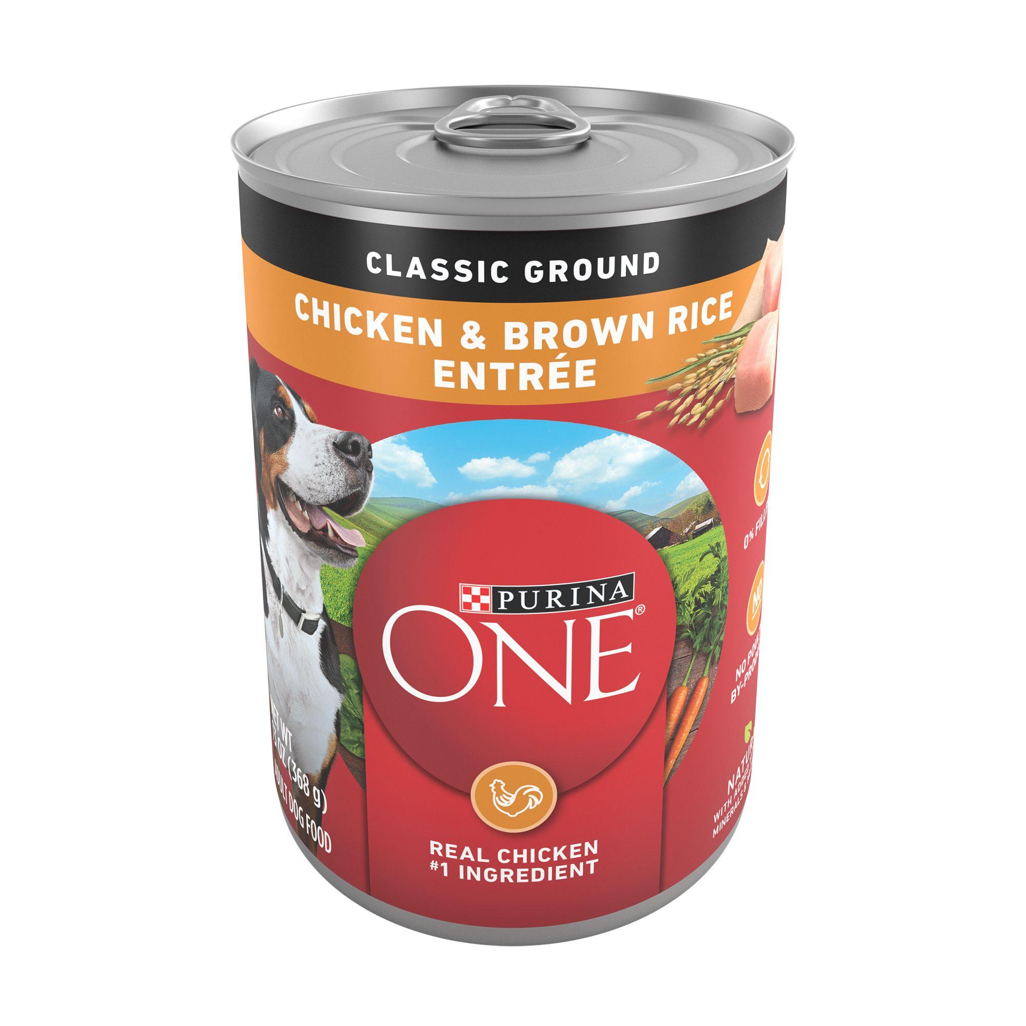 Purina One Smartblend Adult Dog Food Natural Size 13 Oz
