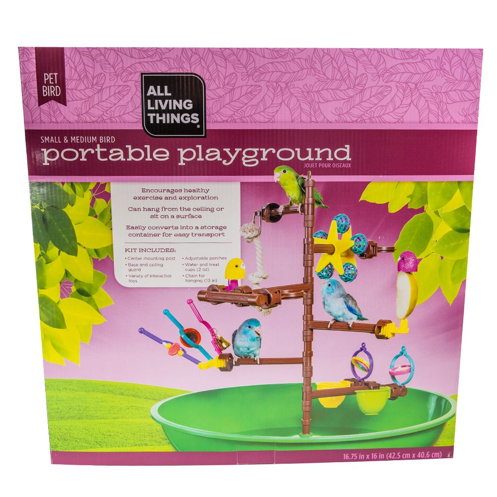 All Living Things Portable Bird Playground 5127553