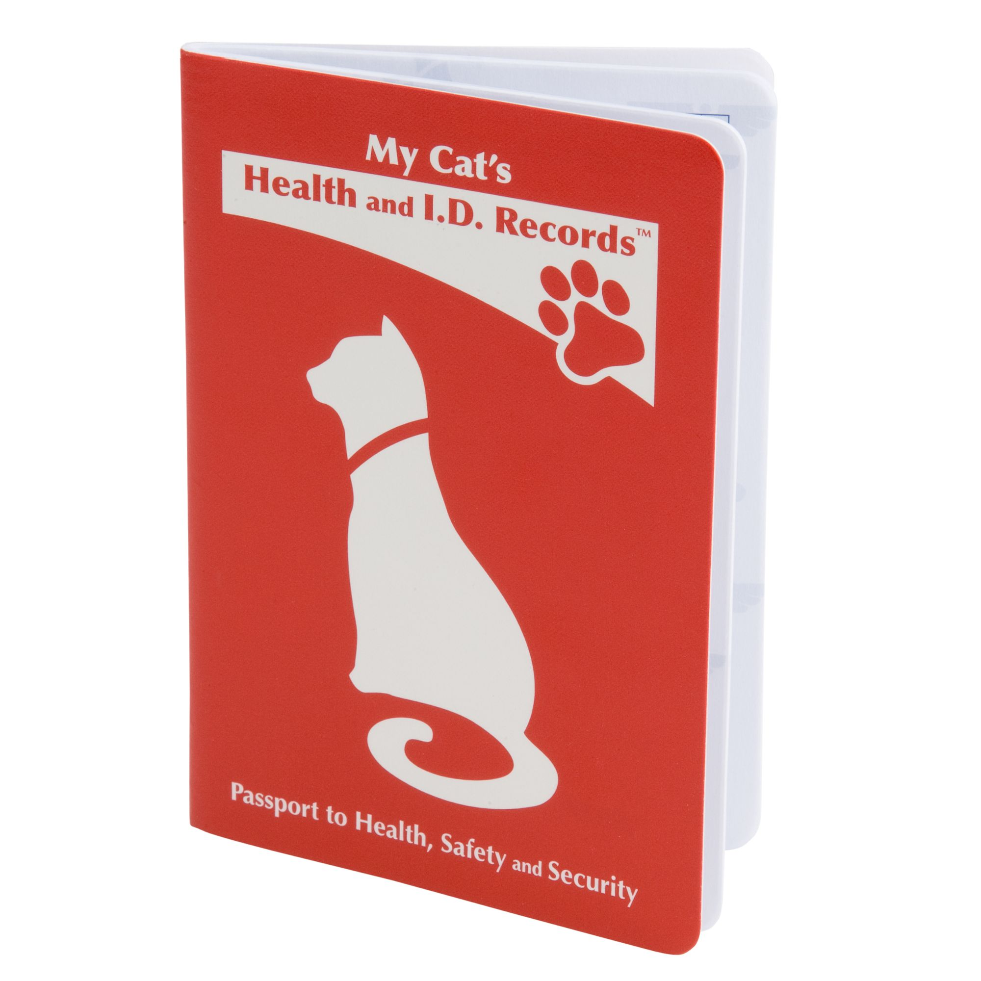 Mdi Health And I.d. Record Cat Passport Red
