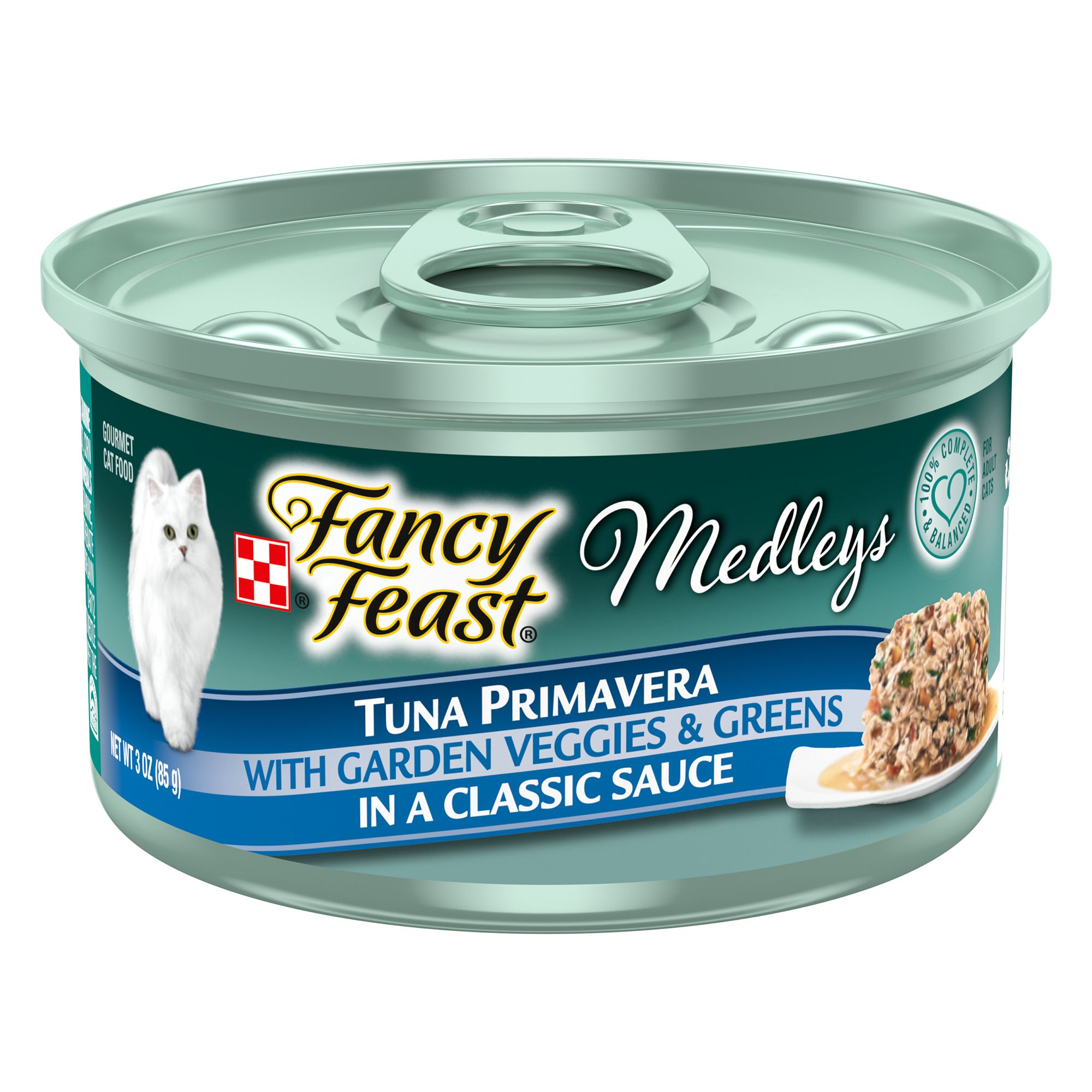 Fancy Feast Medleys Primavera Adult Cat Food Size 3 Oz
