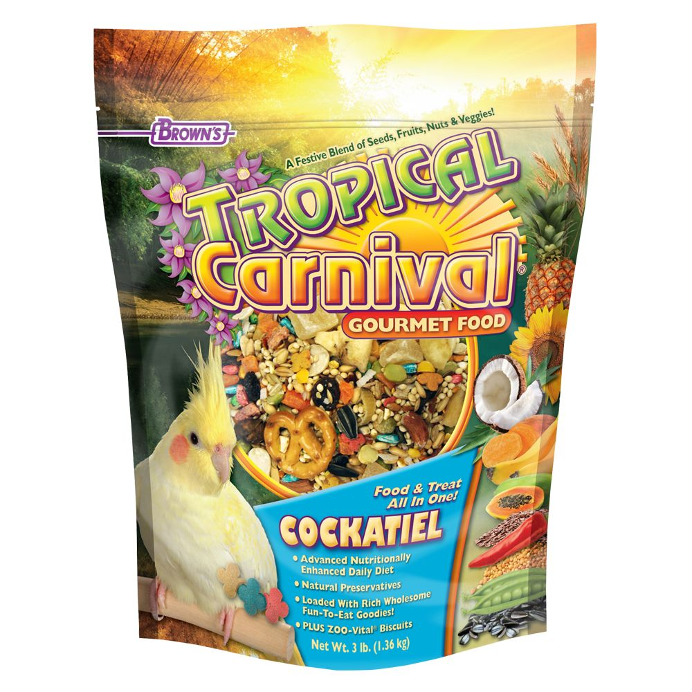 Brown's® Tropical Carnival Cockatiel Food 5133910