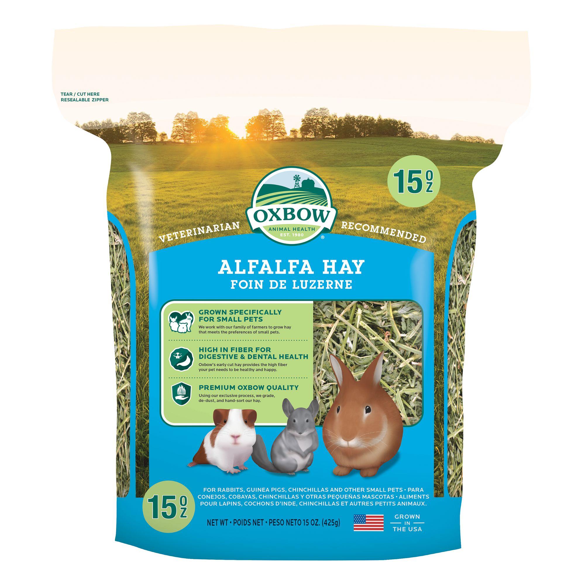 Oxbow Alfalfa Hay Size 15 Oz