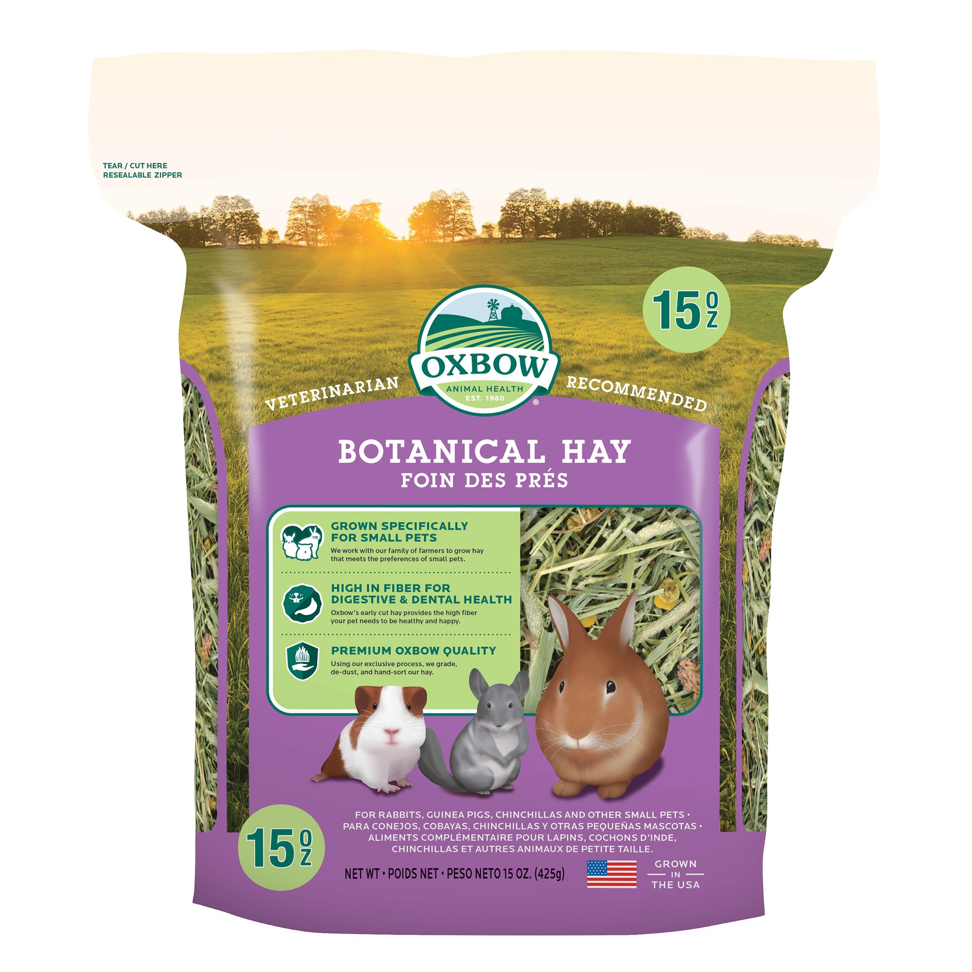 Oxbow Botanical Hay Size 15 Oz