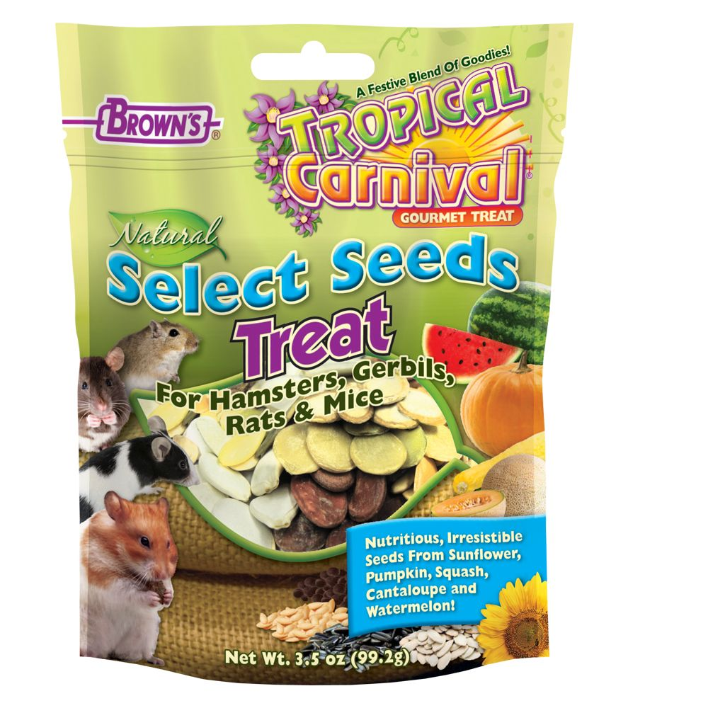 Brown's Extreme! Select Seeds Small Animal Treats size: 3.5 Oz, FM Browns 5135501