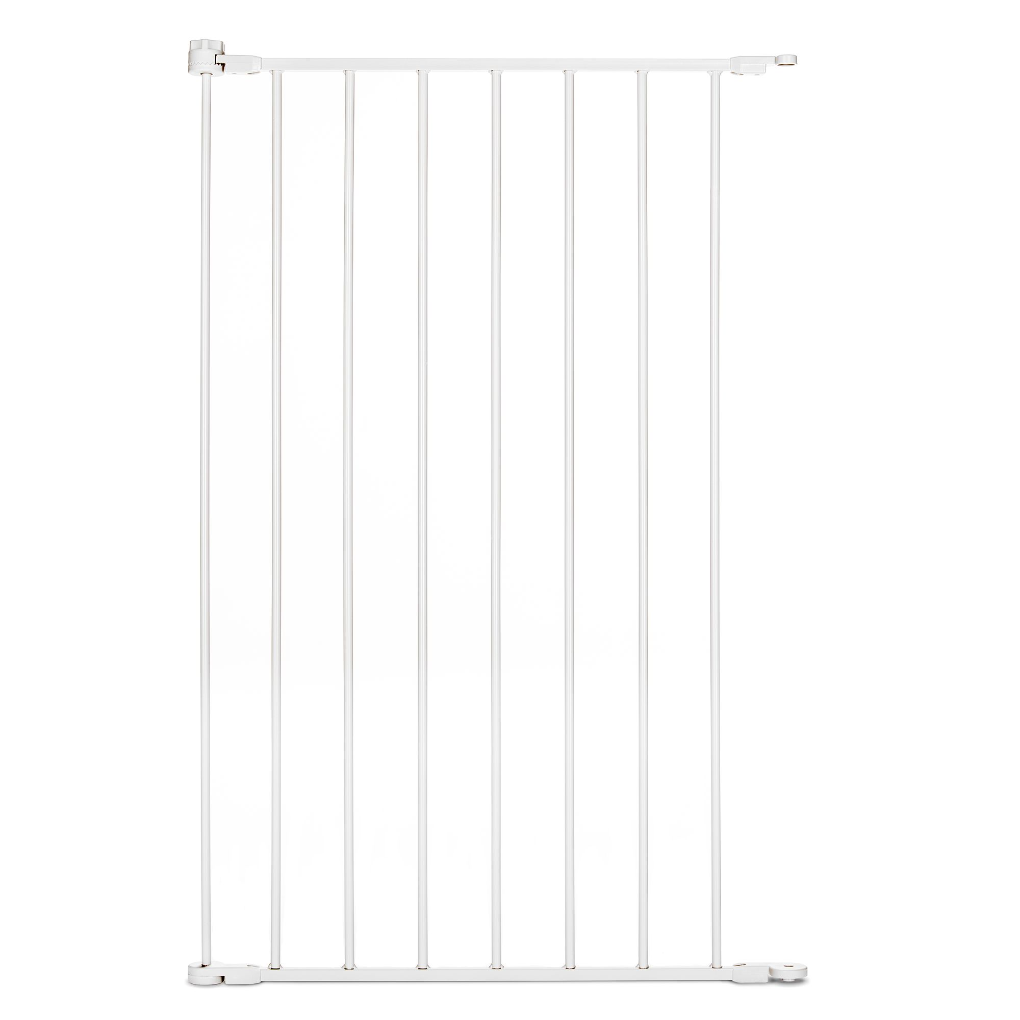 Carlson Pet Products Extension For Extra Tall Walk Thru Gate Size 24 White