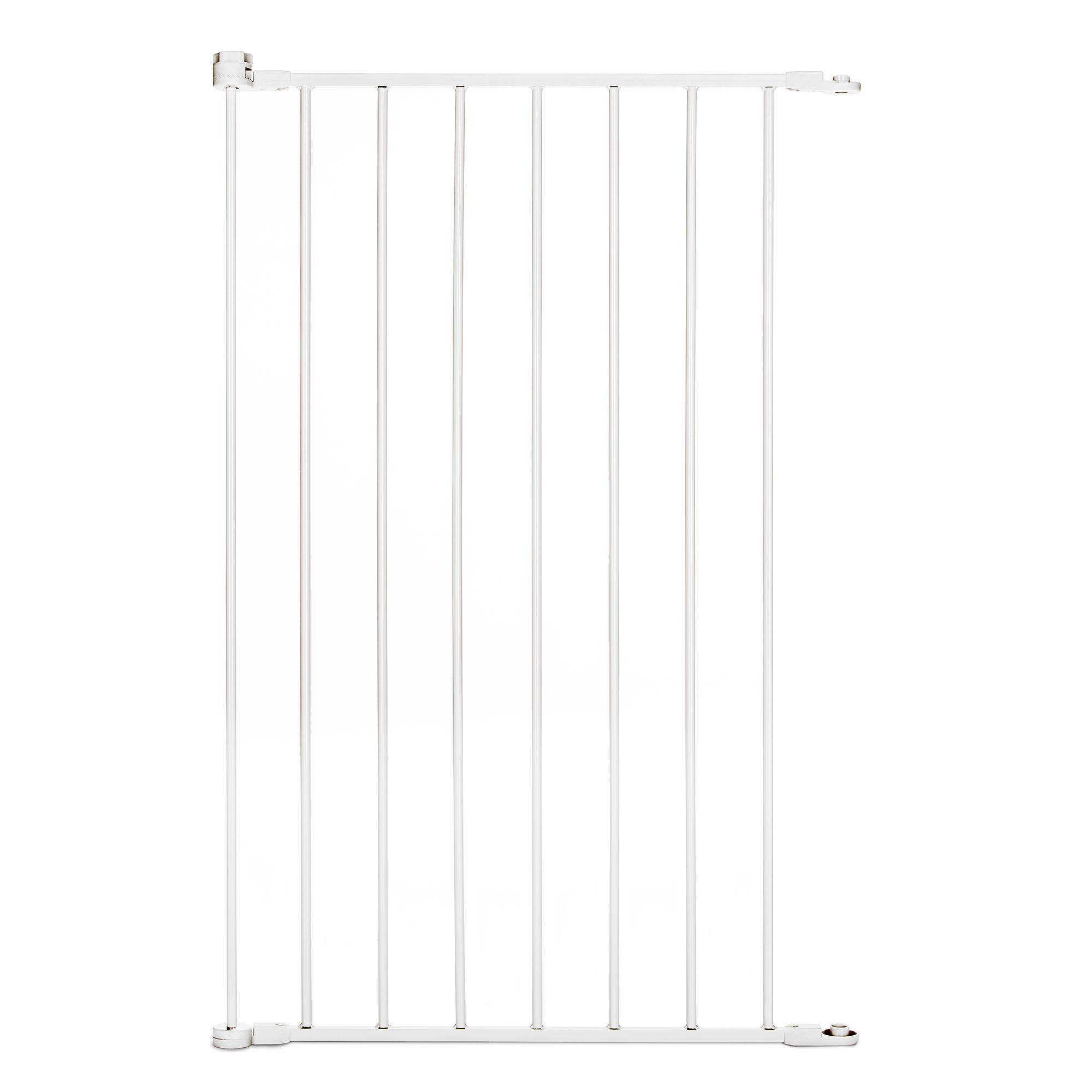 Carlson Pet Products Extension For Maxi Extra Tall Walk Thru Pet Gate Size 29.75l X 37.4375w White