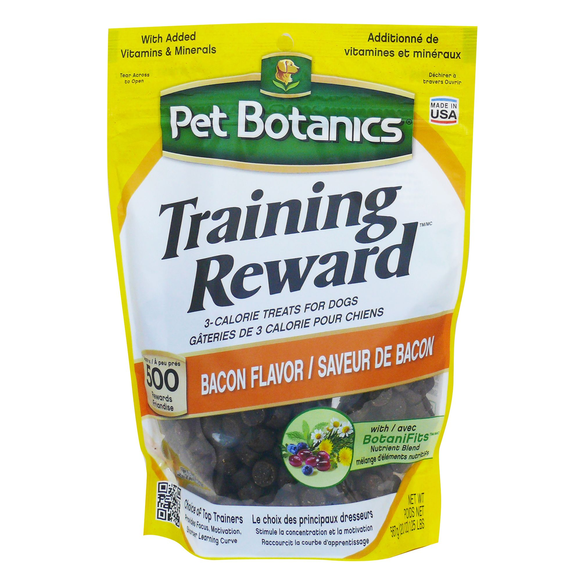 Pet Botanics Training Rewards Dog Treats Size 20 Oz