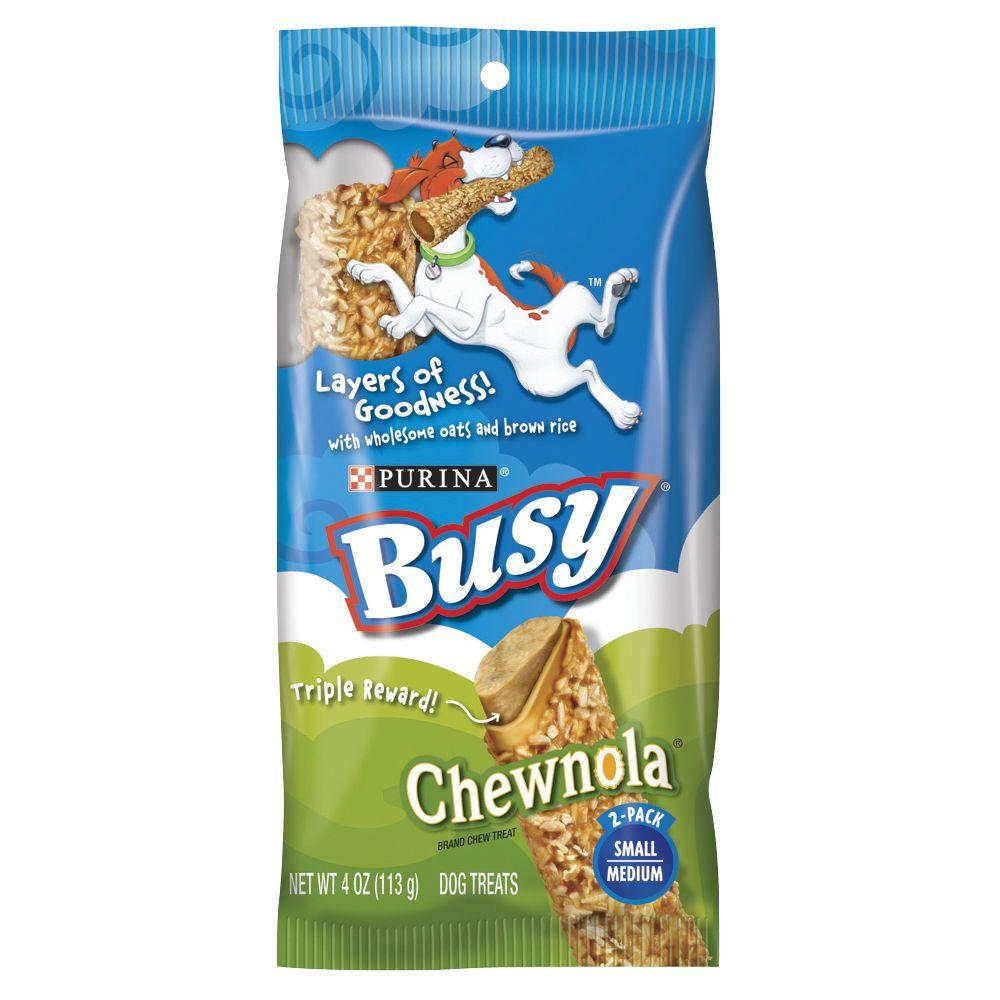 Purina Busy Bone Chewnola Small/medium Dog Treat Size 2 Count