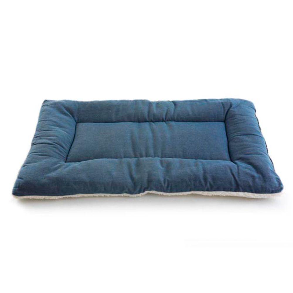 Pet Dreams Classic Sleepeez Dog Bed Size 30l X 20w Blue