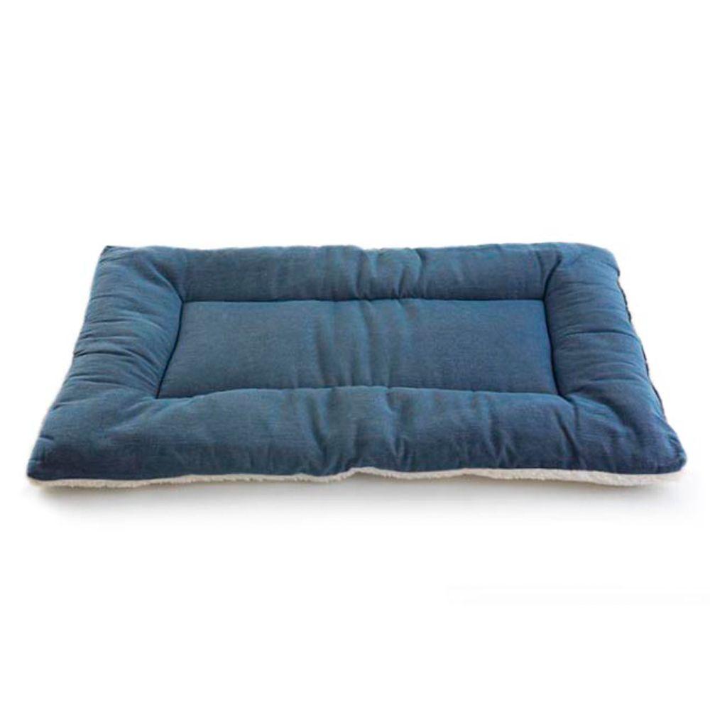 Pet Dreams Classic Sleepeez Dog Bed Size 42l X 28w Blue