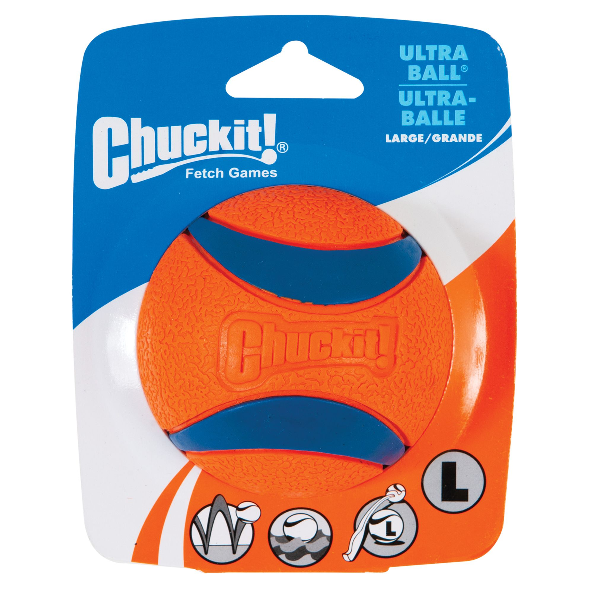 Chuckit! Ultra Ball Set Dog Toy size: Large, Multi-Color