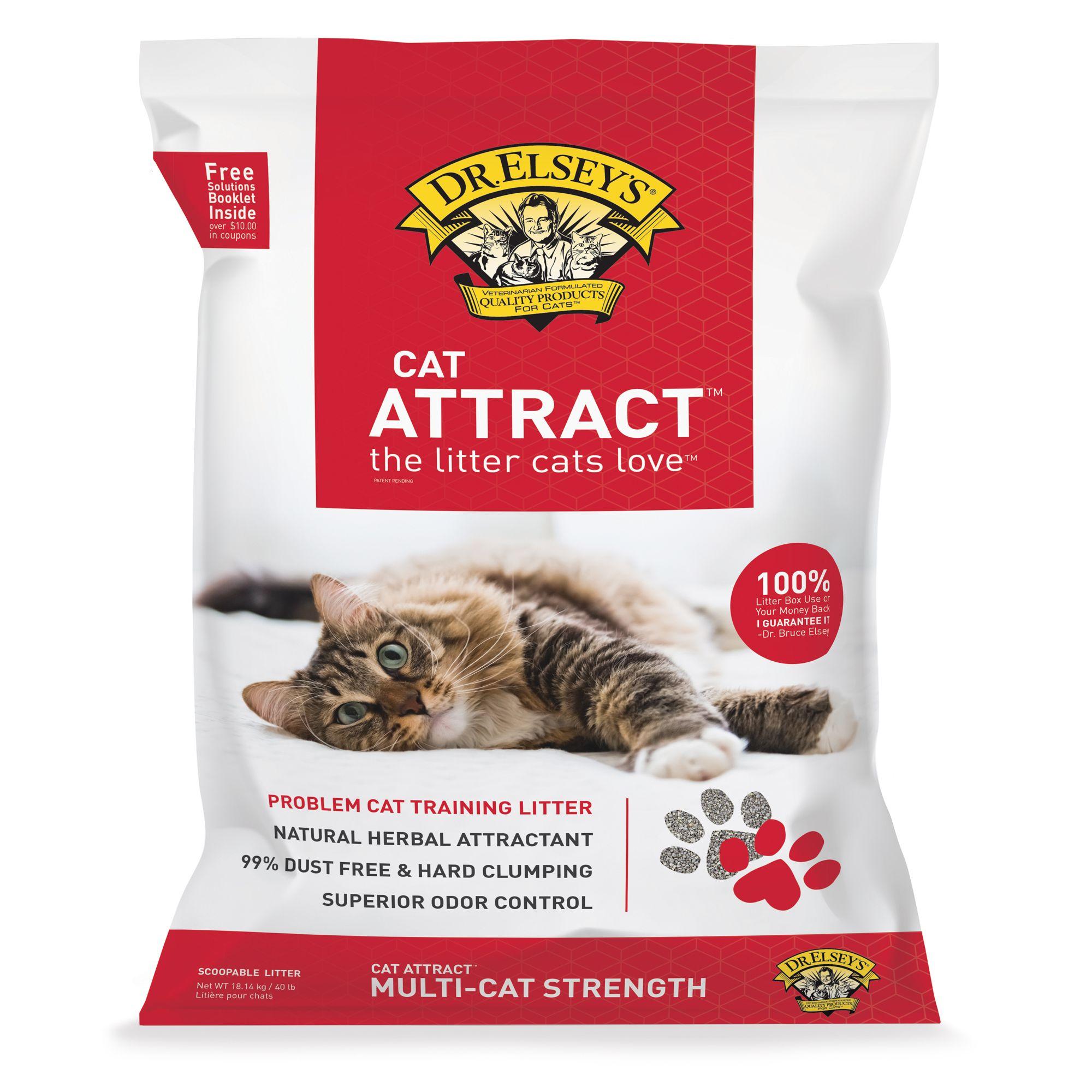 Precious Cat Cat Attract Cat Litter Size 40 Lb