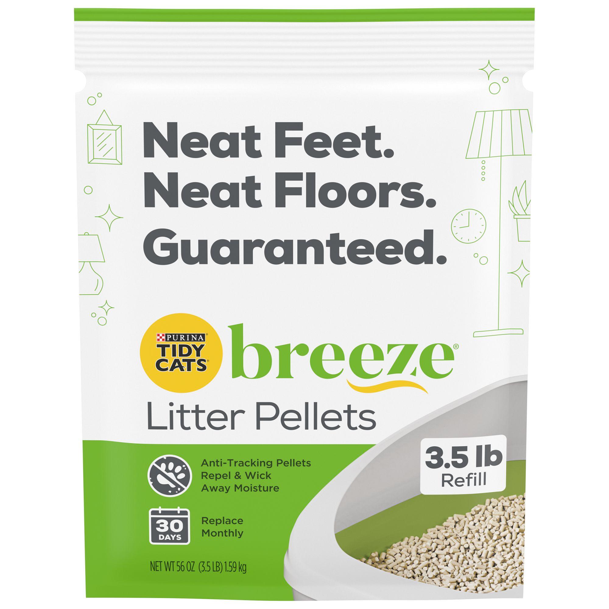 Purina Tidy Cats Breeze Cat Litter Pellets Refill Size 3.5 Lb