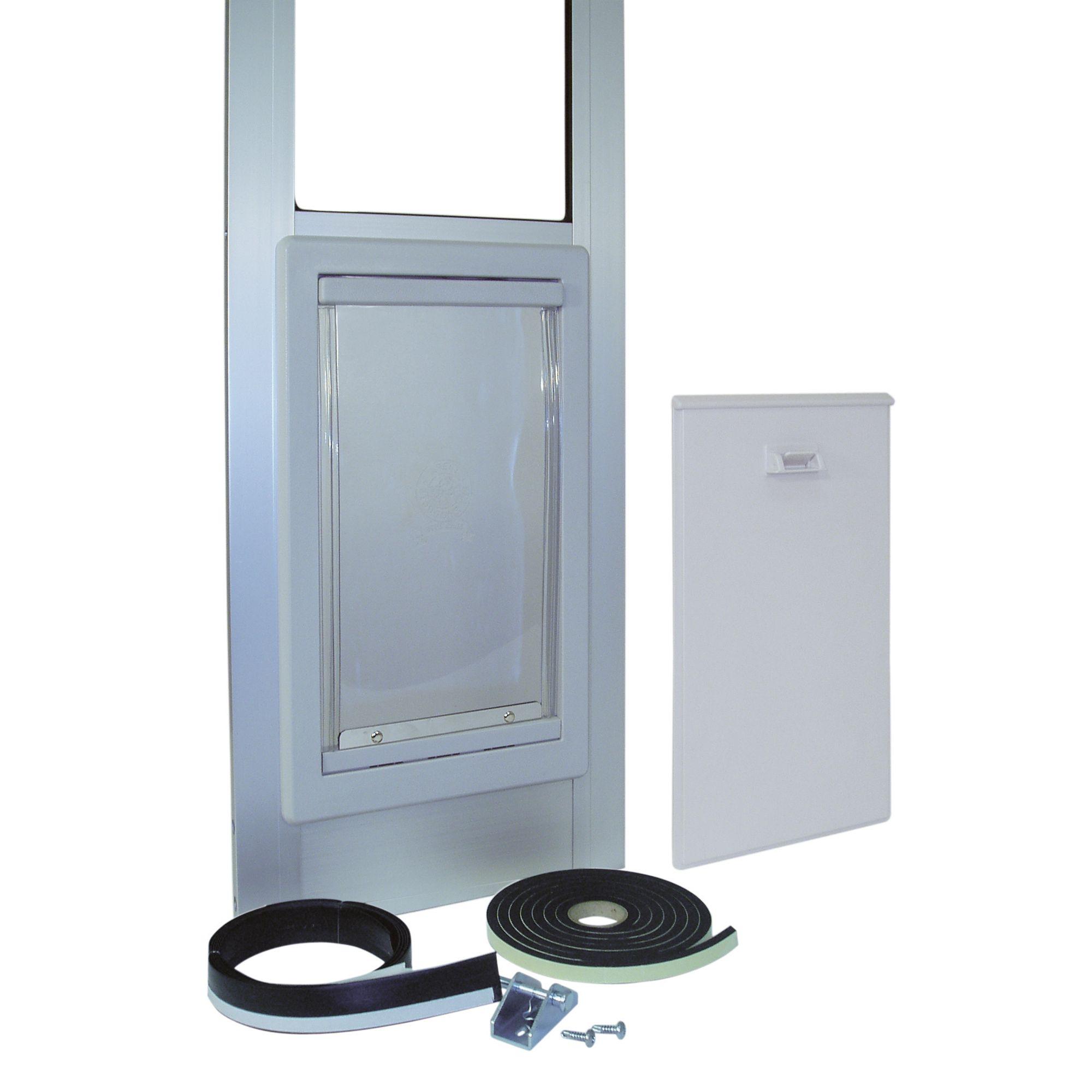 Ideal Pet Products Modular Patio Pet Door Size Medium Mill