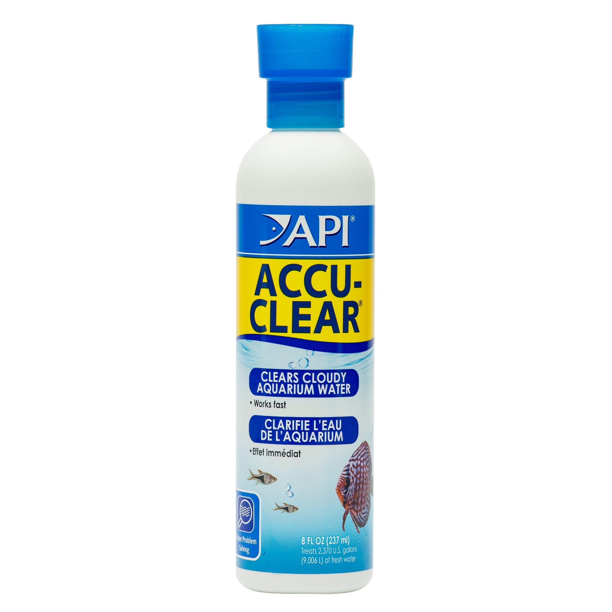 Api Accu Clear Aquarium Water Clairifier Size 8 Fl Oz